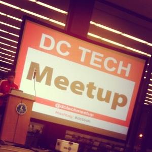 DC Tech Meetup Jan 23, 2014