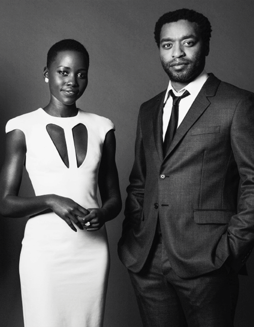 Dancing With Ghosts | Chiwetel Ejiofor & Lupita Nyong'o for The Wrap