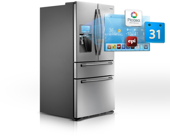 Internet in your refrigerator? (via prodefence.blogspot.com)