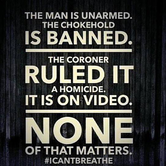 #ICantBreathe Mariel Kanene Eric Garner AAOP