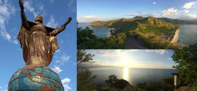 Views from Dili's Cristo Rei statue