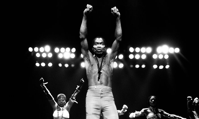 'A militant message couched in uplifting form' … Fela Kuti. Photograph: Leni Sinclair/Getty Images